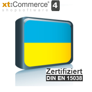 Sprachpaket Ukrainisch xt:Commerce 4