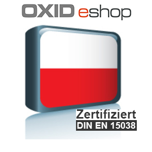 Sprachpaket Polnisch OXID 4.8 (CE) 5.3 (PE, EE)