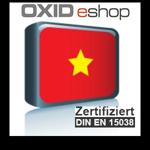 Sprachpaket Vietnamesisch OXID 4.8 (CE) 5.3 (PE, EE)