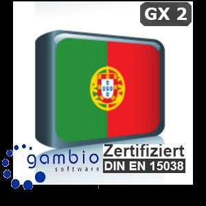 Sprachpaket Portugiesisch Gambio GX2
