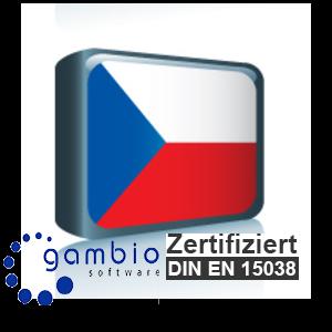 Sprachpaket Tschechisch Gambio GX3