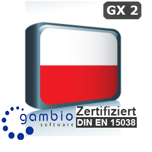 Sprachpaket Polnisch Gambio GX2