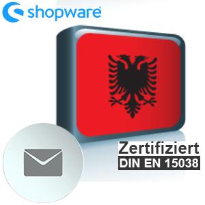 E-Mail Vorlage Albanisch Shopware 5.x