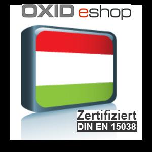 Sprachpaket Ungarisch OXID 4.8 (CE) 5.3 (PE, EE)