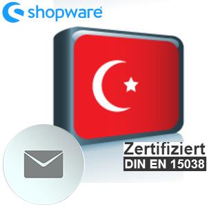 E-Mail Vorlage Türkisch Shopware 5.x