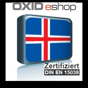 Sprachpaket Isländisch OXID 4.8 (CE) 5.3 (PE, EE)