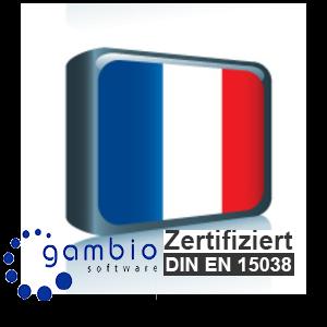 Sprachpaket Französisch Gambio GX3