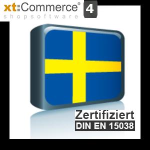 Sprachpaket Schwedisch xt:Commerce 4