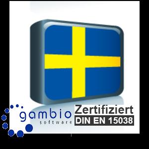 Sprachpaket Schwedisch Gambio GX3