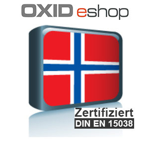 Sprachpaket Norwegisch OXID 4.8
