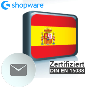 E-Mail Vorlage Spanisch Shopware 5.x