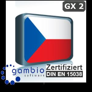 Sprachpaket Tschechisch Gambio GX2