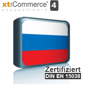 Sprachpaket Russisch xt:Commerce 4