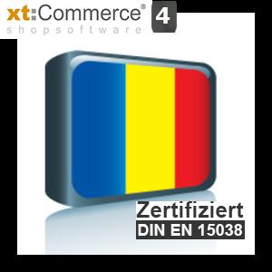 Sprachpaket Rumänisch xt:Commerce 4