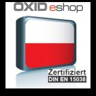 Sprachpaket Polnisch Oxid 6