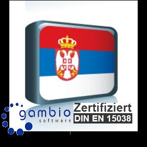 Sprachpaket Serbisch Gambio GX3