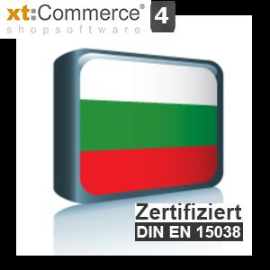Sprachpaket Bulgarisch xt:Commerce 4 (Neueste Version auf Anfrage)