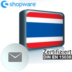 E-Mail Vorlage Thailändisch Shopware 5.x