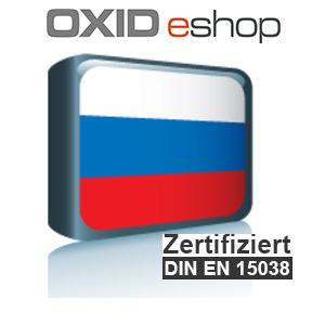 Sprachpaket Russisch OXID 4.8 (CE) 5.3 (PE, EE)