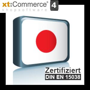 Sprachpaket Japanisch xt:Commerce 4