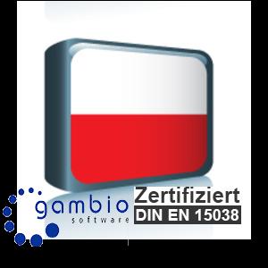 Sprachpaket Polnisch Gambio GX3