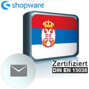 E-Mail Vorlage Serbisch Shopware 5.x