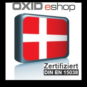 Sprachpaket Dänisch OXID 4.8 (CE) 5.3 (PE, EE)