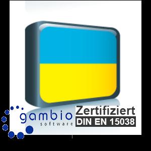 Sprachpaket Ukrainisch Gambio GX3