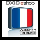 Sprachpaket Französisch Oxid 6