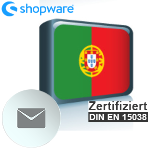 E-Mail Vorlage Portugiesisch Shopware 5.x