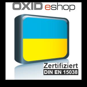 Sprachpaket Ukrainisch OXID 4.8 (CE) 5.3 (PE, EE)