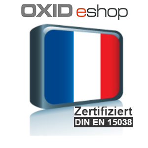 Sprachpaket Französisch OXID 4.8 (CE) 5.3 (PE, EE)