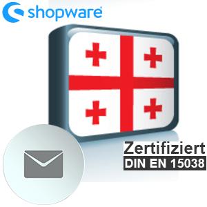 E-Mail Vorlage Georgisch Shopware 5.x