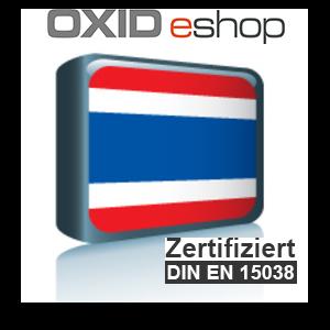 Sprachpaket Thailändisch OXID 4.8 (CE) 5.3 (PE, EE)