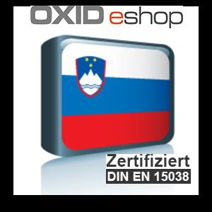 Sprachpaket Slowenisch OXID 4.8 (CE) 5.3 (PE, EE)