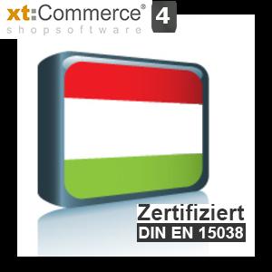Sprachpaket Ungarisch xt:Commerce 4 (Neueste Version auf Anfrage)