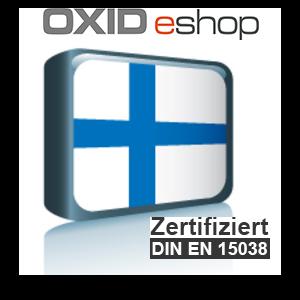 Sprachpaket Finnisch OXID 4.8 (CE) 5.3 (PE, EE)