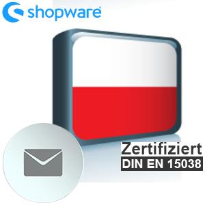 E-Mail Vorlage Polnisch Shopware 5.x