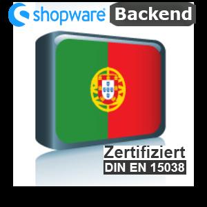 Sprachpaket Portugiesisch Shopware 5.x Backend