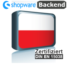 Sprachpaket Polnisch Shopware 5.x Backend