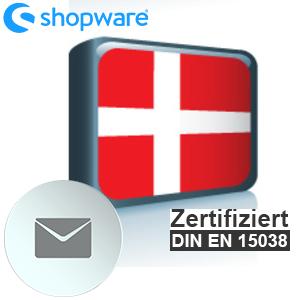 E-Mail Vorlage Dänisch Shopware 5.x