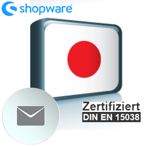 E-Mail Vorlage Japanisch Shopware 5.x