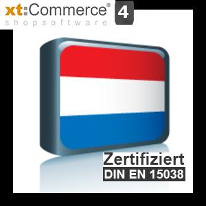 Sprachpaket Niederländisch xt:Commerce 4 (Neueste Version auf Anfrage)