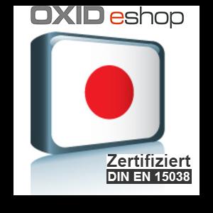 Sprachpaket Japanisch OXID 4.8 (CE) 5.3 (PE, EE)