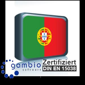 Sprachpaket Portugiesisch Gambio GX3 (Neueste Version auf Anfrage)