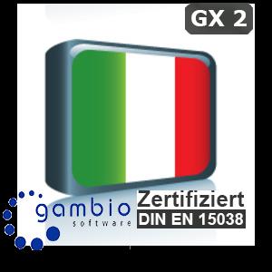 Sprachpaket Italienisch Gambio GX2