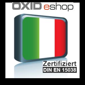 Sprachpaket Italienisch OXID 4.8 (CE) 5.3 (PE, EE)