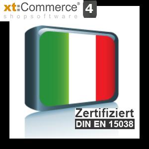 Sprachpaket Italienisch xt:Commerce 4 (Neueste Version auf Anfrage)