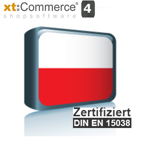 Sprachpaket Polnisch xt:Commerce 4