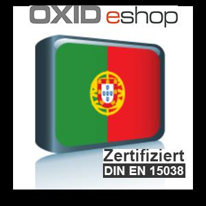 Sprachpaket Portugiesisch OXID 4.8 (CE) 5.3 (PE, EE)